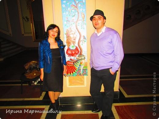 выставка работ Зураба Мартиашвили 08,03,12 фото 8