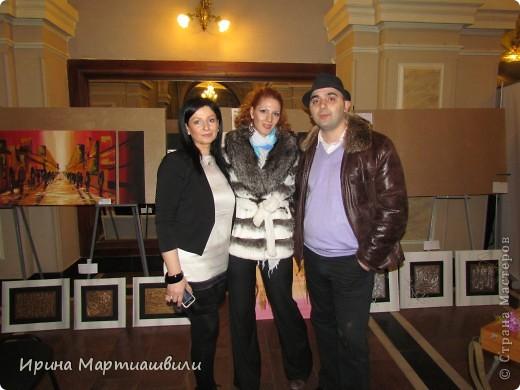 выставка работ Зураба Мартиашвили 08,03,12 фото 9