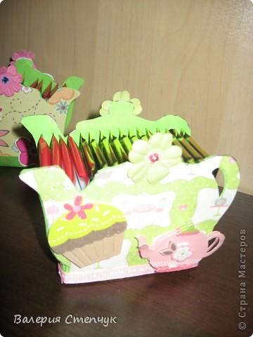 """Мои первые работы на 8 марта родным:) Это """"домики для чайных пакетиков"""" фото 5"""