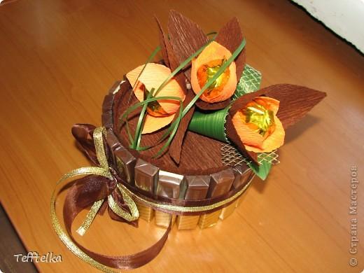 Шоколадная рафаэлка фото 1