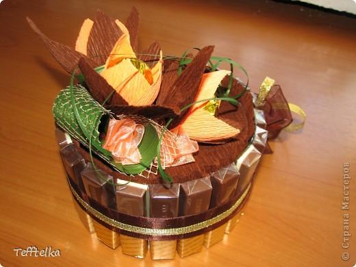 Шоколадная рафаэлка фото 2