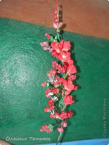 цветочки из конфет фото 2