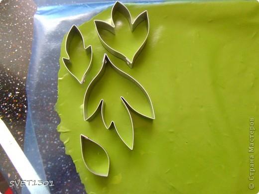 Мастер-класс Лепка Древовидный пион МК Фарфор холодный фото 12