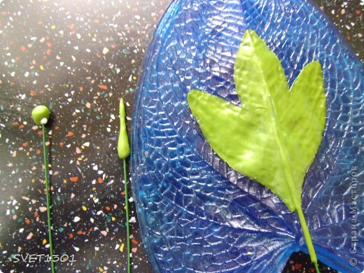 Мастер-класс Лепка Древовидный пион МК Фарфор холодный фото 14