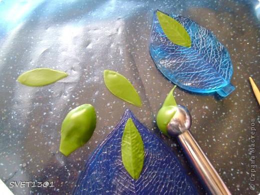 Мастер-класс Лепка Прдолжение МК по лепке древовидного пиона из ХФ  Фарфор холодный фото 14