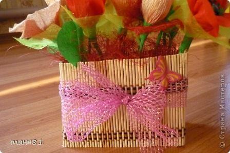 Подарки делала учителям музыки Полинки к 8 марта. Впервые пробовала свит-дизайн. фото 3