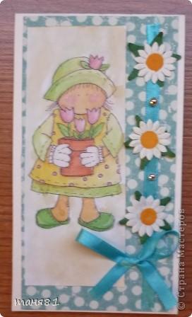 Подарки делала учителям музыки Полинки к 8 марта. Впервые пробовала свит-дизайн. фото 13