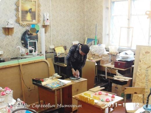 В мастерской Детского Дома фото 1