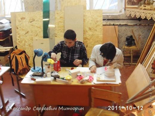 В мастерской Детского Дома фото 3