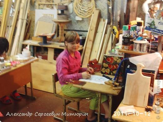 В мастерской Детского Дома фото 12