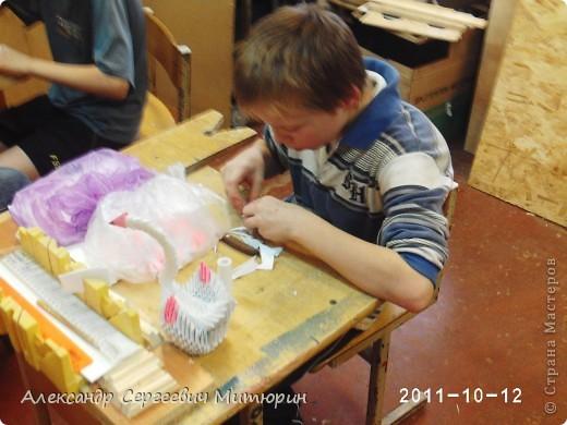 В мастерской Детского Дома фото 6