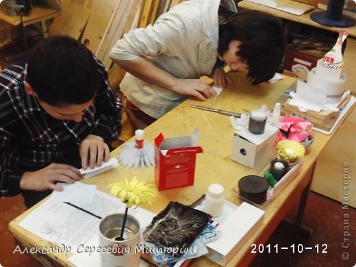 В мастерской Детского Дома фото 7