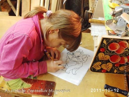 В мастерской Детского Дома фото 4