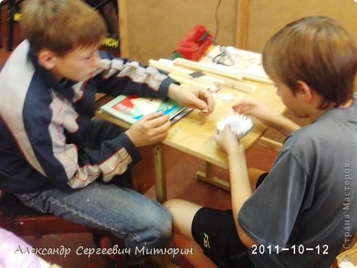В мастерской Детского Дома фото 8