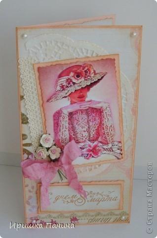 Вот и пролетел самый яркий Весенний день!  Хочу ещё дарить подарки! Хочу ещё делать открытки! Ещё праздники хочу!!!! ))))) фото 9
