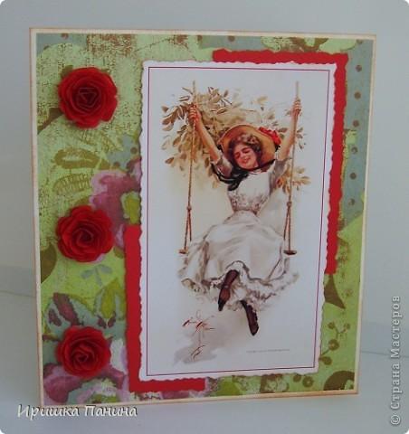 Вот и пролетел самый яркий Весенний день!  Хочу ещё дарить подарки! Хочу ещё делать открытки! Ещё праздники хочу!!!! ))))) фото 13