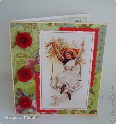Вот и пролетел самый яркий Весенний день!  Хочу ещё дарить подарки! Хочу ещё делать открытки! Ещё праздники хочу!!!! ))))) фото 12