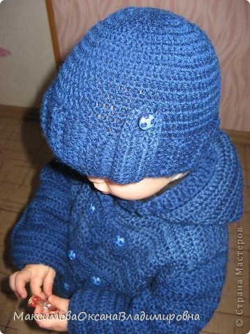 Пальто и шапочка фото 2