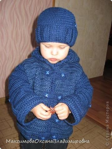 Пальто и шапочка фото 1
