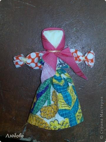 """Этих куколок Веснянок сделали Анна ( мама) и Олеся (дочка) на моём мастер-классе, который прошёл в клубе """"Интеграл"""" в фойе за большим столом для всех желающих.  фото 2"""