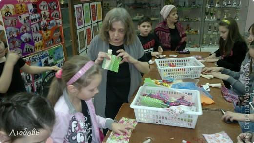 """Этих куколок Веснянок сделали Анна ( мама) и Олеся (дочка) на моём мастер-классе, который прошёл в клубе """"Интеграл"""" в фойе за большим столом для всех желающих.  фото 4"""