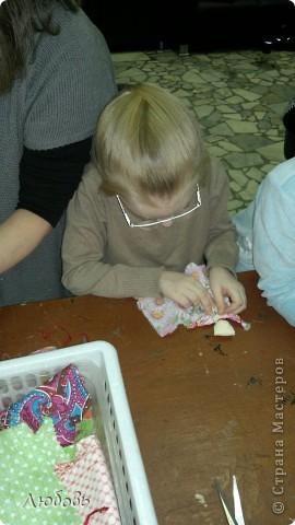 """Этих куколок Веснянок сделали Анна ( мама) и Олеся (дочка) на моём мастер-классе, который прошёл в клубе """"Интеграл"""" в фойе за большим столом для всех желающих.  фото 8"""