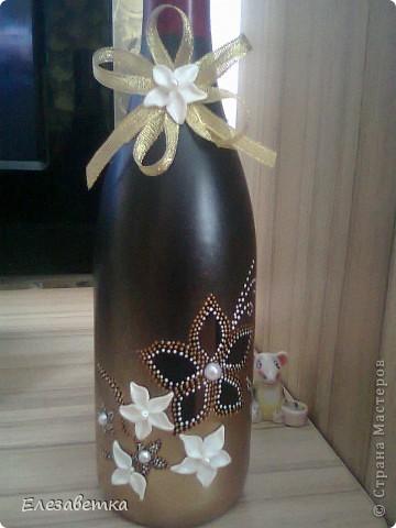 Здравствуйте мастерицы!!!!!!!! Хочется показать Вам повторюшки. Теперь  дарить просто коробку конфет и простую бутылку, как то банально.  Вот такие подарочки у меня получились... Этот очень хорошим знакомым... фото 6