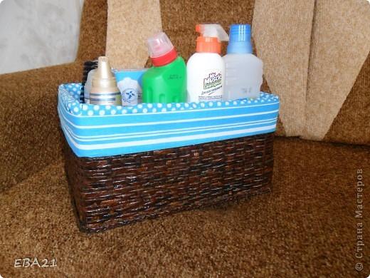 Плетеночка в ванную комнату фото 2
