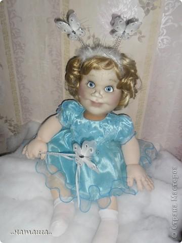 Добрый день или вечер!!! Если я не надоела вам со своими куклами, то хочу познакомить ещё с одной девочкой. Сегодня появилась Снежана. фото 5