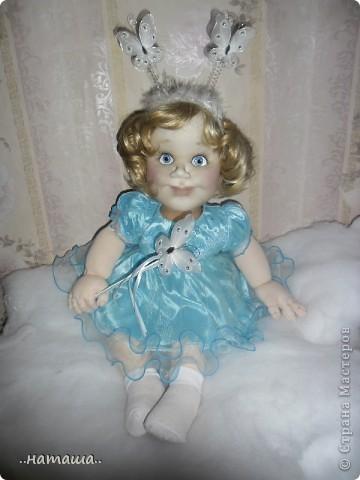 Добрый день или вечер!!! Если я не надоела вам со своими куклами, то хочу познакомить ещё с одной девочкой. Сегодня появилась Снежана. фото 6
