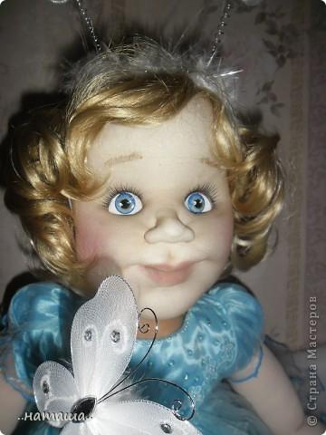 Добрый день или вечер!!! Если я не надоела вам со своими куклами, то хочу познакомить ещё с одной девочкой. Сегодня появилась Снежана. фото 3