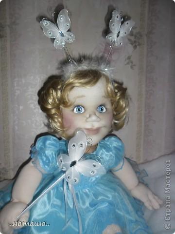 Добрый день или вечер!!! Если я не надоела вам со своими куклами, то хочу познакомить ещё с одной девочкой. Сегодня появилась Снежана. фото 2