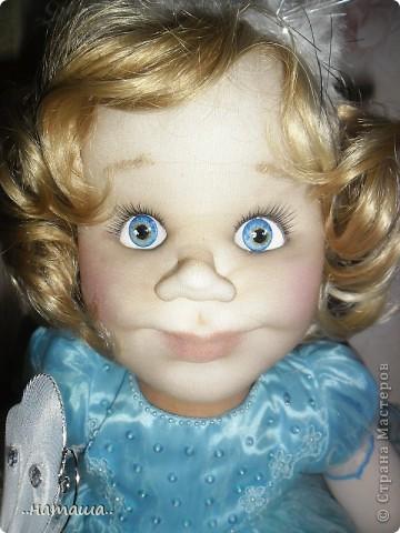 Добрый день или вечер!!! Если я не надоела вам со своими куклами, то хочу познакомить ещё с одной девочкой. Сегодня появилась Снежана. фото 4