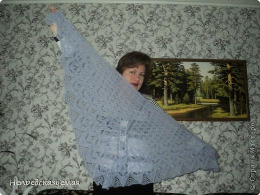 Мое воплощение шали Филлерид