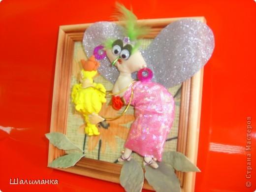 Картина панно рисунок Бумажный туннель Лепка Шитьё сказки Чуковского Федорино горе Муха-цокотуха фото 2.