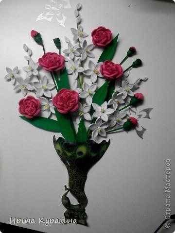 очень понравилась работа Ольги Ольшак моей маме и я  решила ей сделать подарок на день рождения фото 5