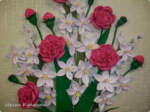 очень понравилась работа Ольги Ольшак моей маме и я  решила ей сделать подарок на день рождения фото 3