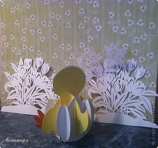 Предлагаю вашему вниманию, поучиться складывать картинки киригами.  фото 25