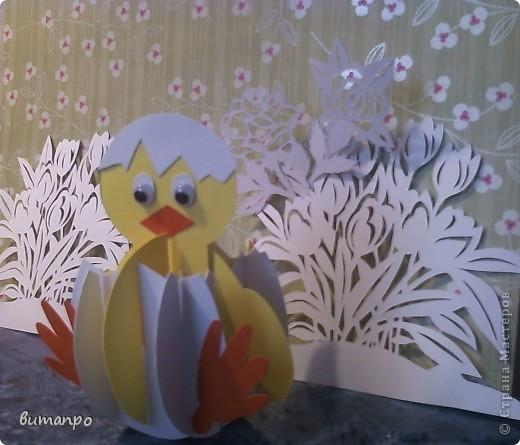Предлагаю вашему вниманию, поучиться складывать картинки киригами.  фото 24