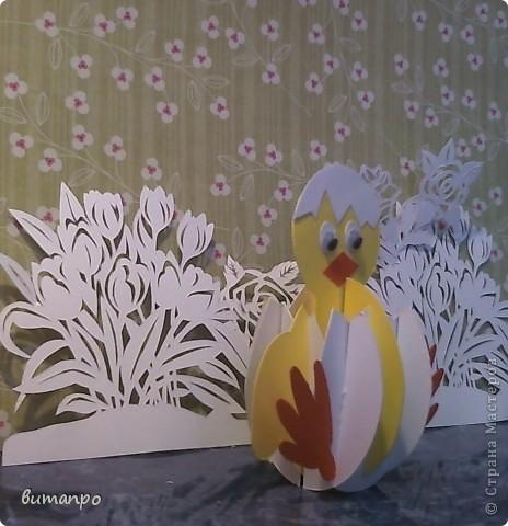 Предлагаю вашему вниманию, поучиться складывать картинки киригами.  фото 26