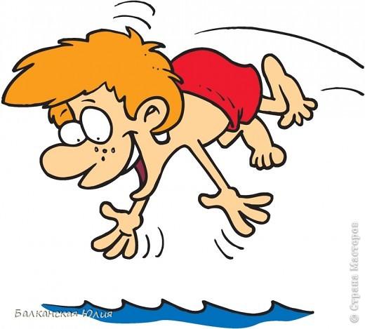 Открытка для тренера по плаванию. фото 5