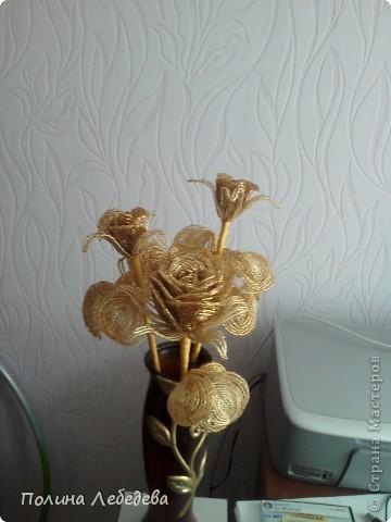 Роза из рубки Бисер фото 1
