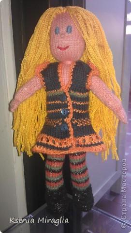 ...моя первая куколка...