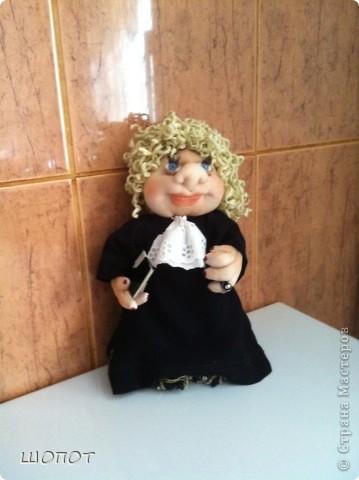 Это судья. Делала в подарок маминой подруге. фото 1