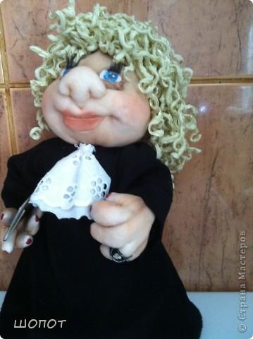 Это судья. Делала в подарок маминой подруге. фото 2