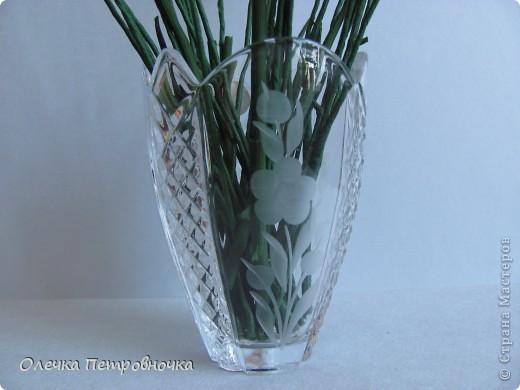 """Многие интересовались, как была сделана вазочка, в  композиции """"РОЗЫ С КЛУБНИКОЙ"""". фото 2"""