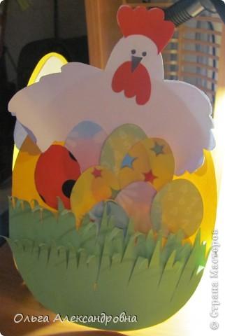 Предлагаю вашему вниманию открыточку на пасху, которую можно сделать с детьми младшего школьного возраста. фото 5