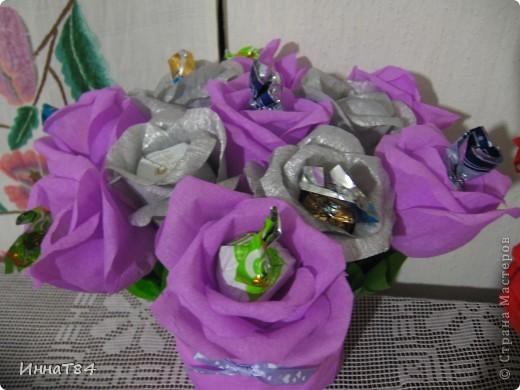 Заказ букетиков из конфет фото 4