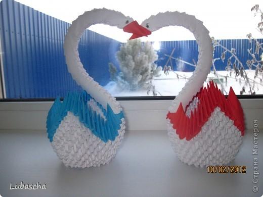Вот какие Лебеди получились у меня