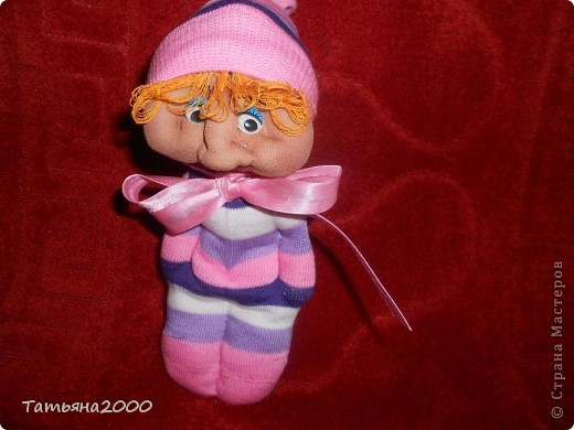 Куколки из носков фото 3
